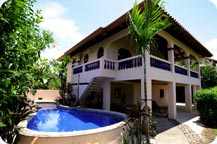 luxury vacation costa rica beach rentals