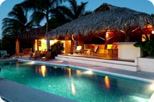 costa rica tropical beach vacation rental