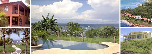 luxury oceanview homes for rent in Costa Rica